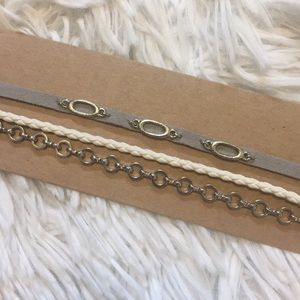 3 Choker Set American Eagle